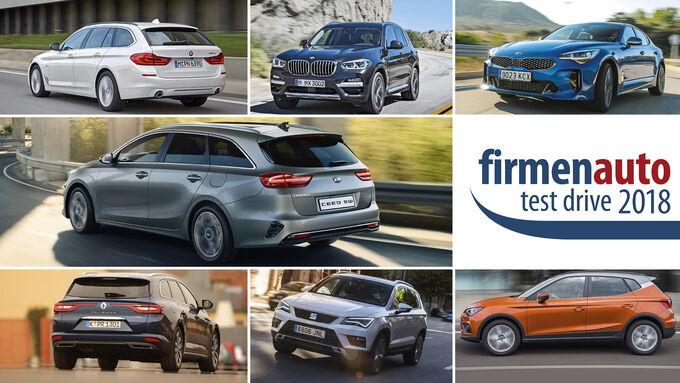 Firmenauto Test Drive 2018