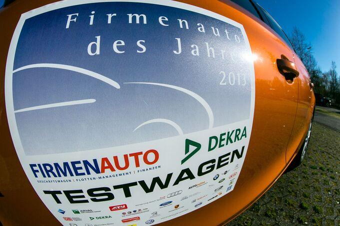 Firmenauto des Jahres 2013 in Rust.