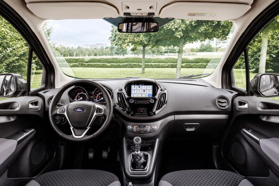 Ford Tourneo Courier Facelift >> Ford Tourneo Connect und Courier (2018): Neues für die Familie - firmenauto