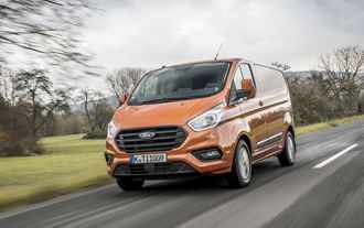 Ford Transit Custom 2018 Facelift