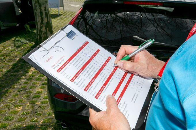 Fuhrparkleiter bewerten.
