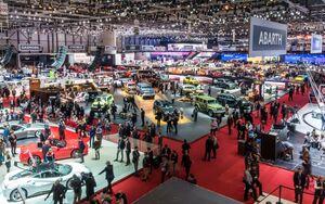 Genfer Autosalon 2016 Messe Auto Messe
