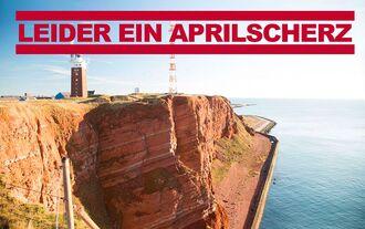 Helgoland, Aprilscherz