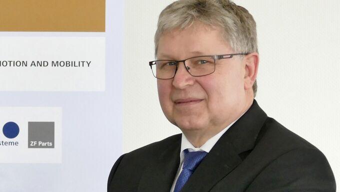 Helmut Ernst ZF Services Geschäftsführer
