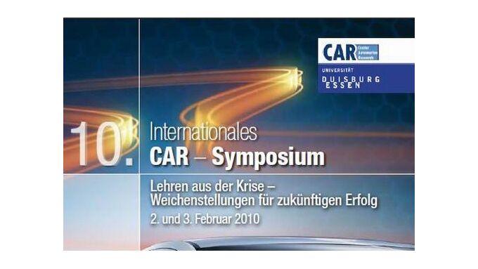 Internationales CAR-Symposium am 2. und 3. Februar