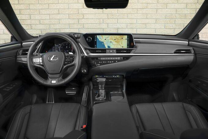 Lexus ES 2019, Innenraum, Cockpit, Armaturenbrett