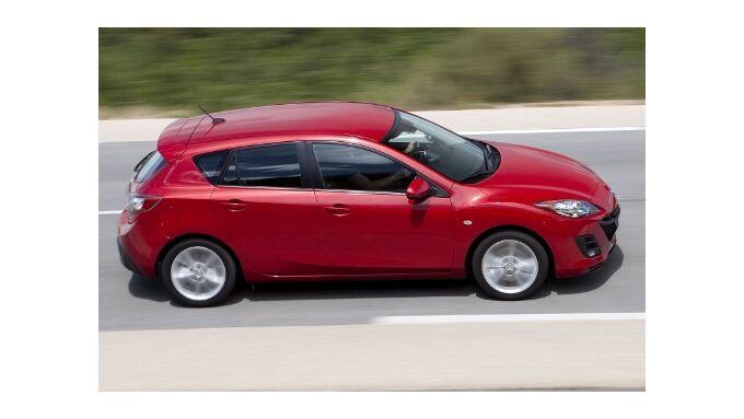 Mazda 3 mit mehr Kraft unterwegs