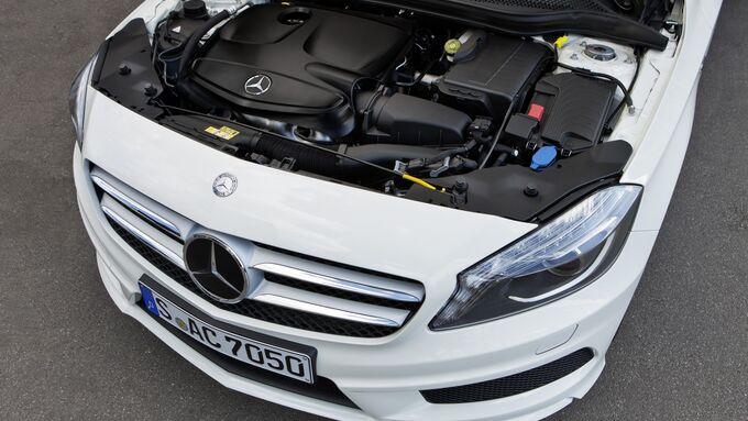 Mercedes, A-Klasse, Benzinmotor, 2012