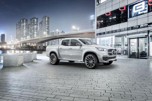 Mercedes-Benz Concept X-CLASS – Ausblick auf den neuen Pickup mit Stern