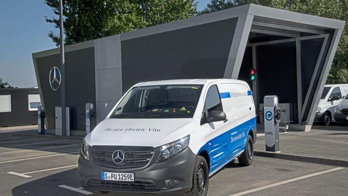 Mercedes-Benz electric Vito