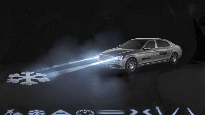 Mercedes-Maybach S-Klasse: DIGITAL LIGHT