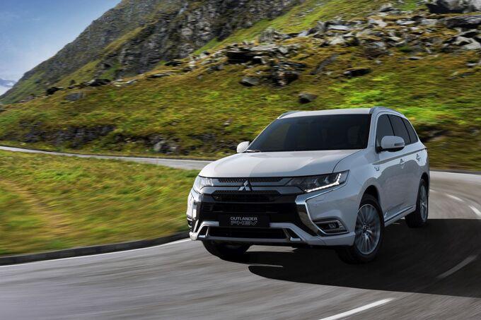 Mitsubishi Outlander PHEV Genf 2018