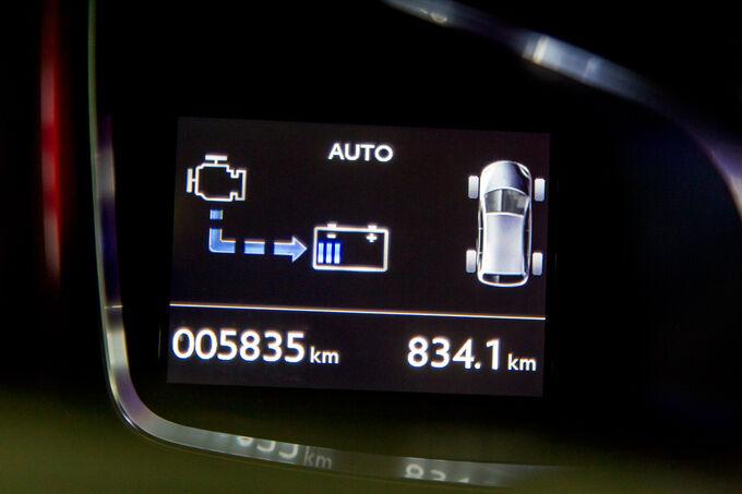 Modellcheck Citroën DS5, Anzeige, Batterie-Ladestatus