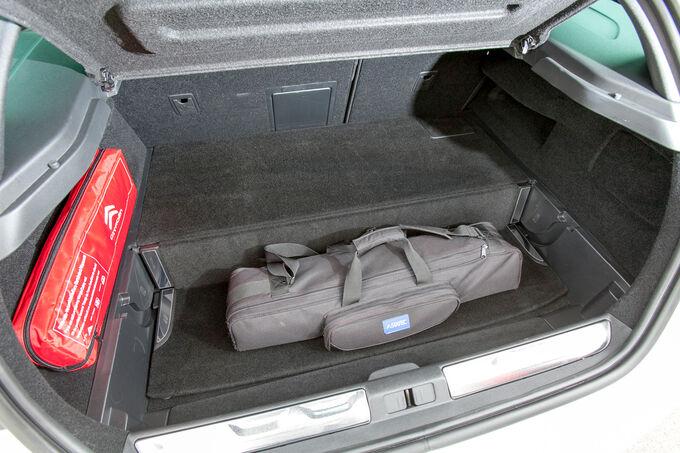 Modellcheck Citroën DS5, Kofferraum