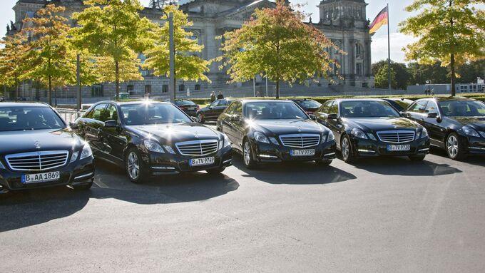 Obwohl der Fahrdienst des Bundestags Erdgasautos einsetzt hat er seine Klimaziele weit verfehlt.