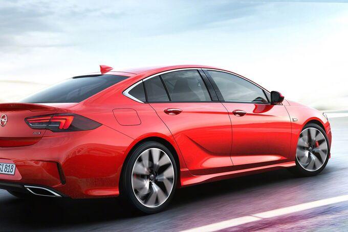 Opel Insignia Gsi IAA 2017