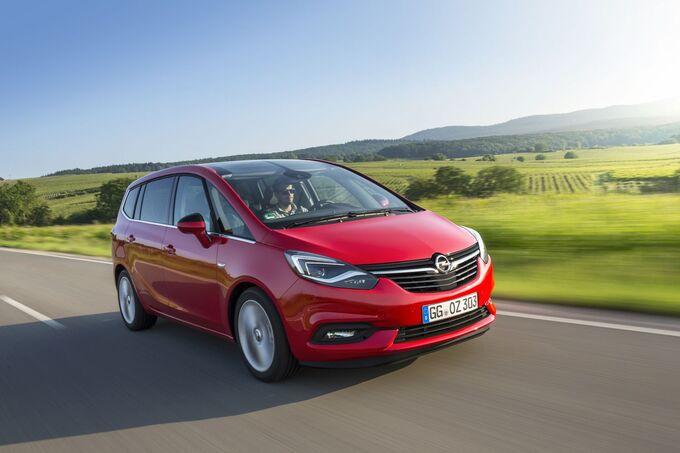 Opel Zafira 1.4 Turbo 2016