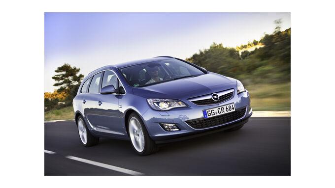 Opel bietet Firmenleasing