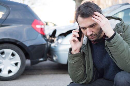 Panne Unfall Notruf Smartphone
