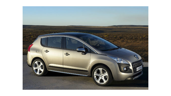 Peugeot stellt den Crossover 3008 vor