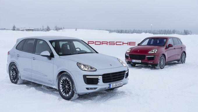 Porsche Cayenne GTS und Turbo S