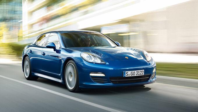 Porsche Panamera S Hybrid, Fahrbericht, Porsche sportlich
