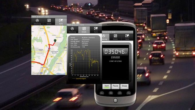 Smartphone, Drivers Log, Fahrtenbuch