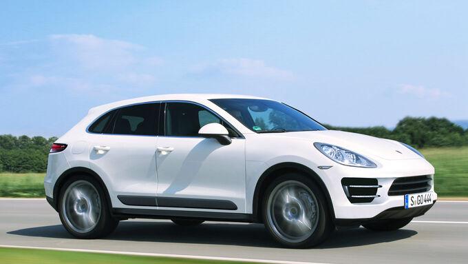 So könnte der Porsche Macan aussehen