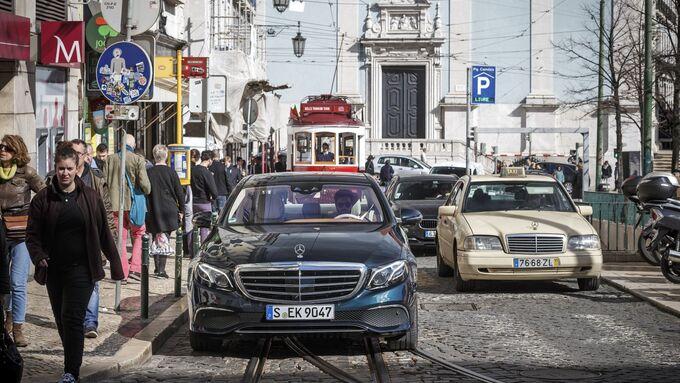 The new E-Class Press Test Drive, Lisbon 2016