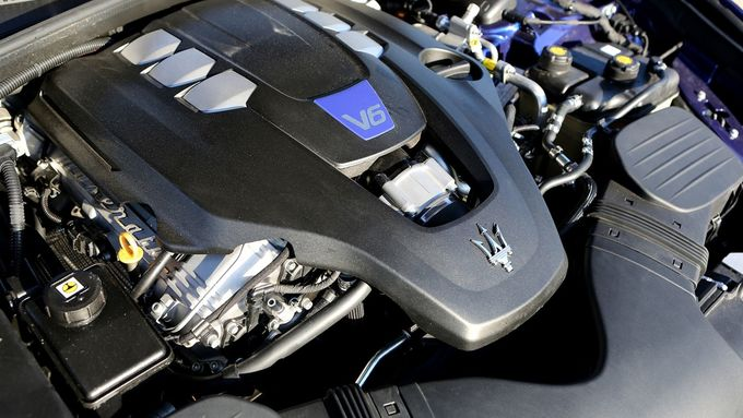 V6 Motor Maserati