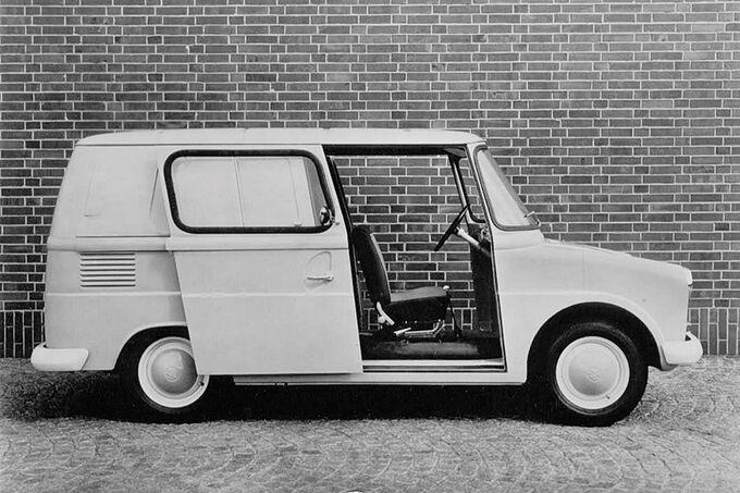 VW Fridolin, Schiebetüren