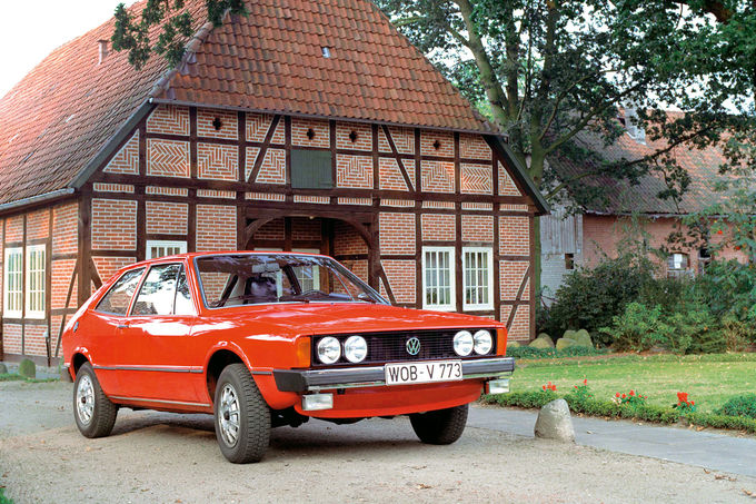 VW Scirocco, Dienstwagen