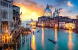 Venedig Sonnenuntergang Lagune
