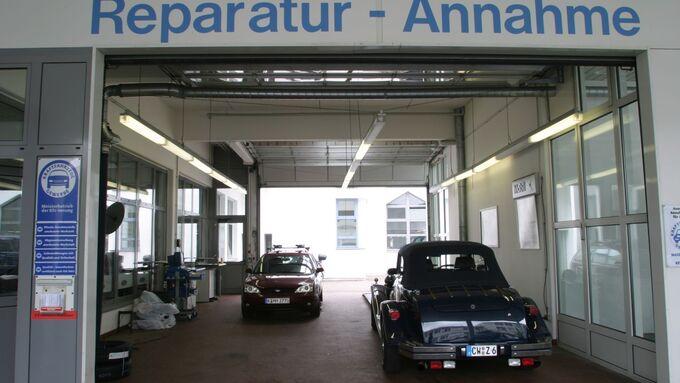 Werkstatt Auto